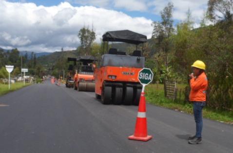 Obras en el Valle de Sibundoy