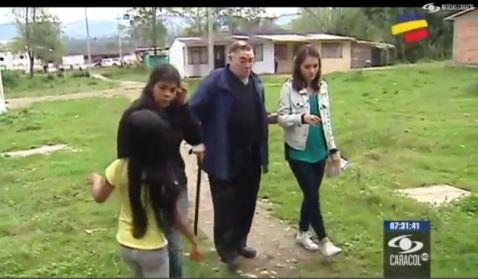 Con ayuda de niños españoles, sacerdote da abrigo a familias pobres del Putumayo