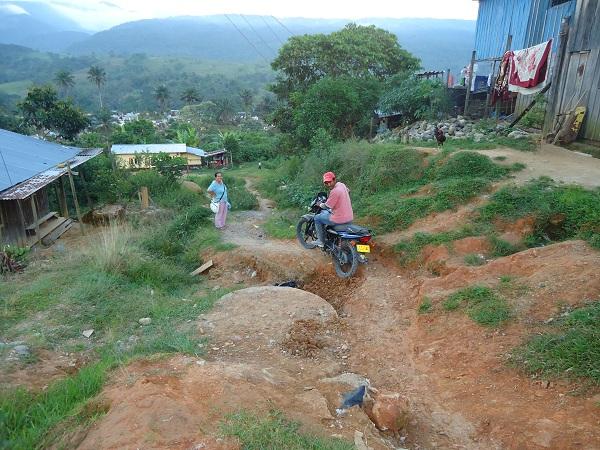 Seis años de abandono, denuncia el barrio Palermo en Mocoa