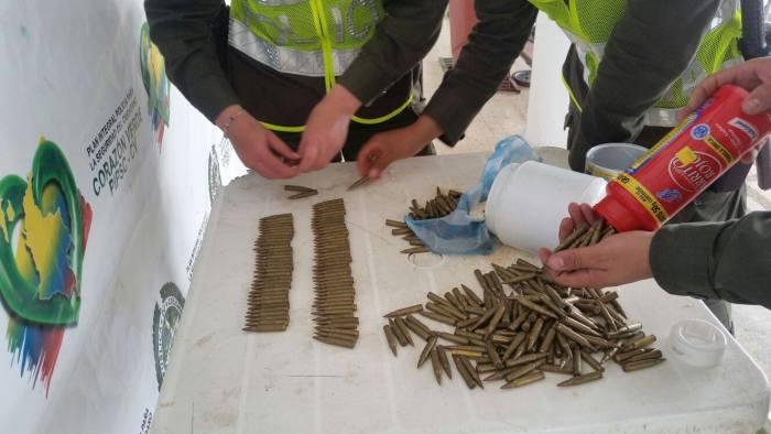 Incautados 500 cartuchos de munición calibre 5.56 en Colón