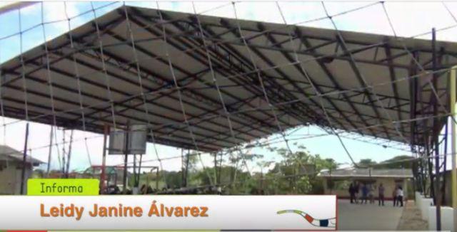 Dotación a Polideportivos en Zona Rural de Orito