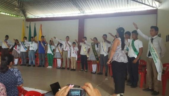 Asistencia Técnica a Organismos de Participacion Estudiantil de las IE´s de Valle del Guamues y San Miguel