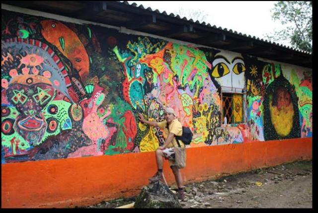 "Mural ""Pinta Yagé"""