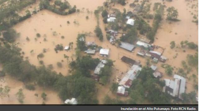 Las intensas lluvias dejaron sin acueducto a cinco municipios del Putumayo