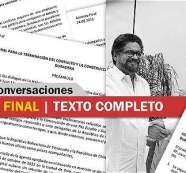 Lea el texto completo y definitivo del acuerdo final de paz