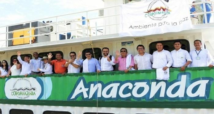 Aula Fluvial Anaconda llegará ahora al Amazonas