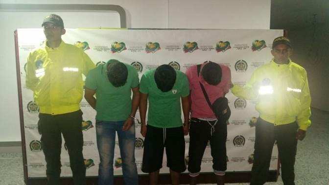Capturados presuntos asaltantes del banco BBVA de Villagarzón