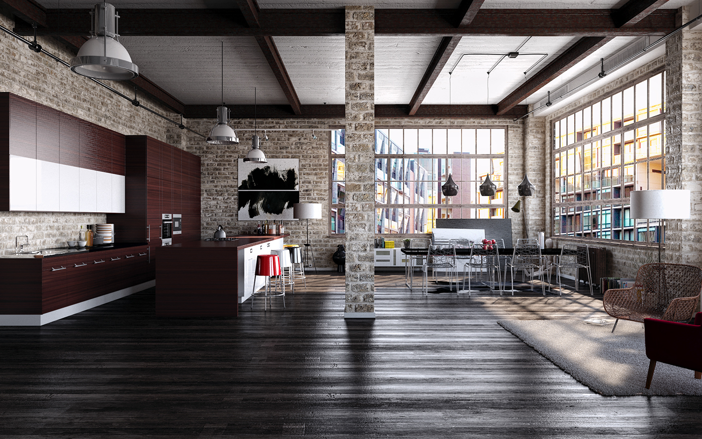 Ailid40 Appealing Industrial Loft Interior Design Today 2021 01 11