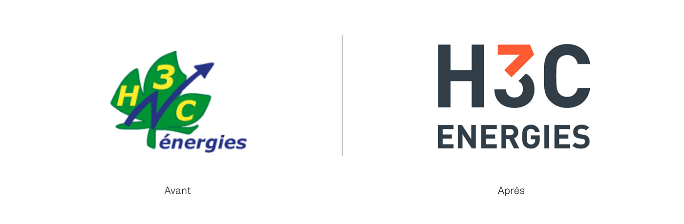 H3C Energies - Brand Design on Behance - company analysis