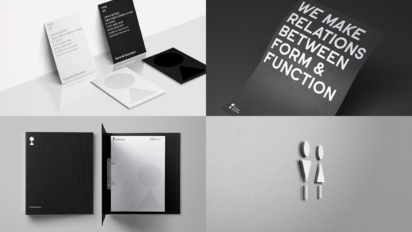 Corporate Graphic Design Studio Form Function Corporate Identity Design On Behance