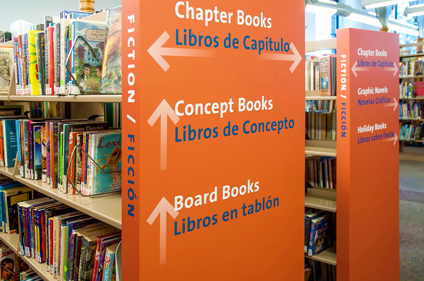 Artemis Libros New Haven Free Public Library Signage Wayfinding On Behance