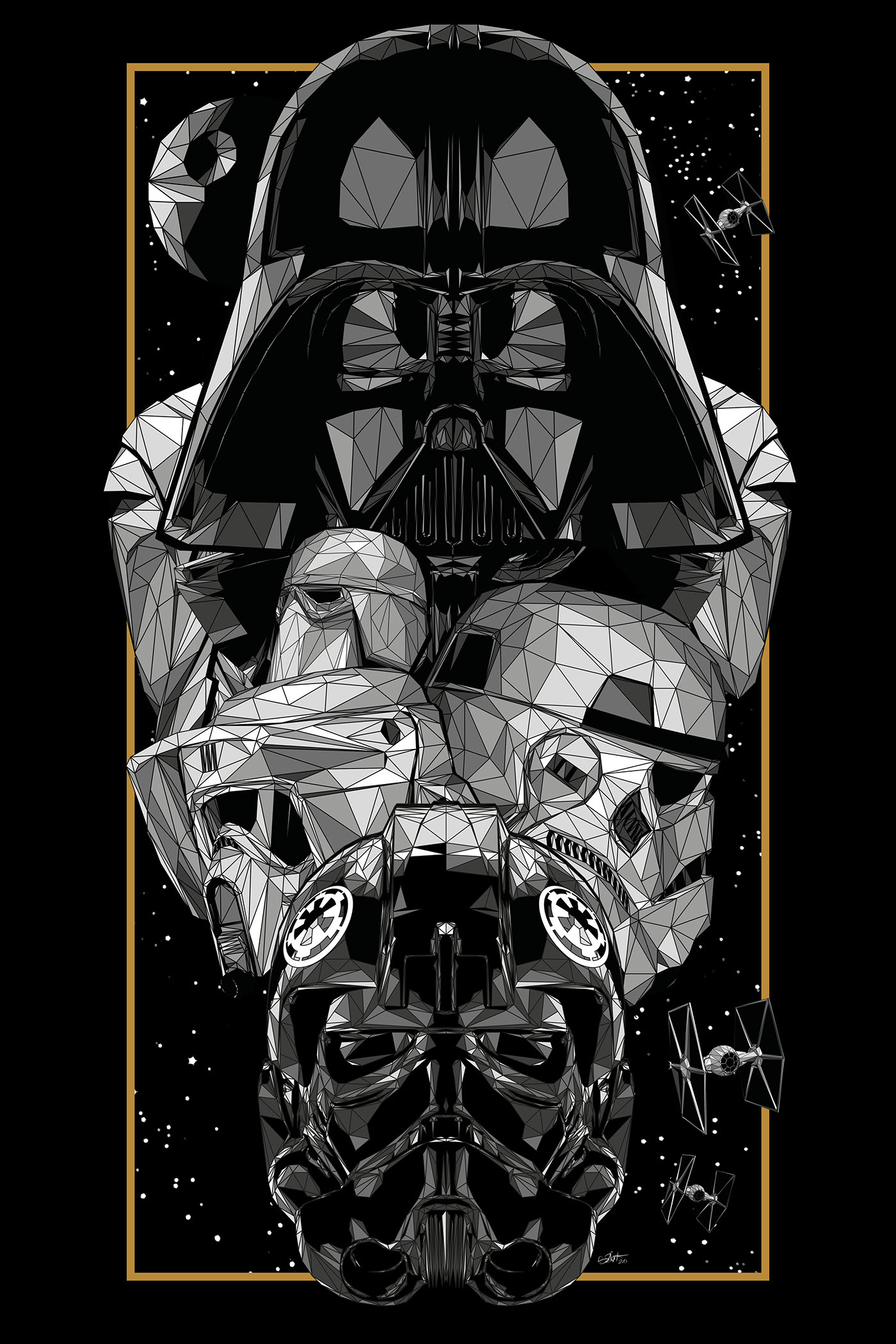 Iphone Wallpaper Icon Template Star Wars An Art Odyssey Official Exhibition On Behance