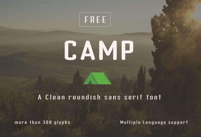 Camp Font Download