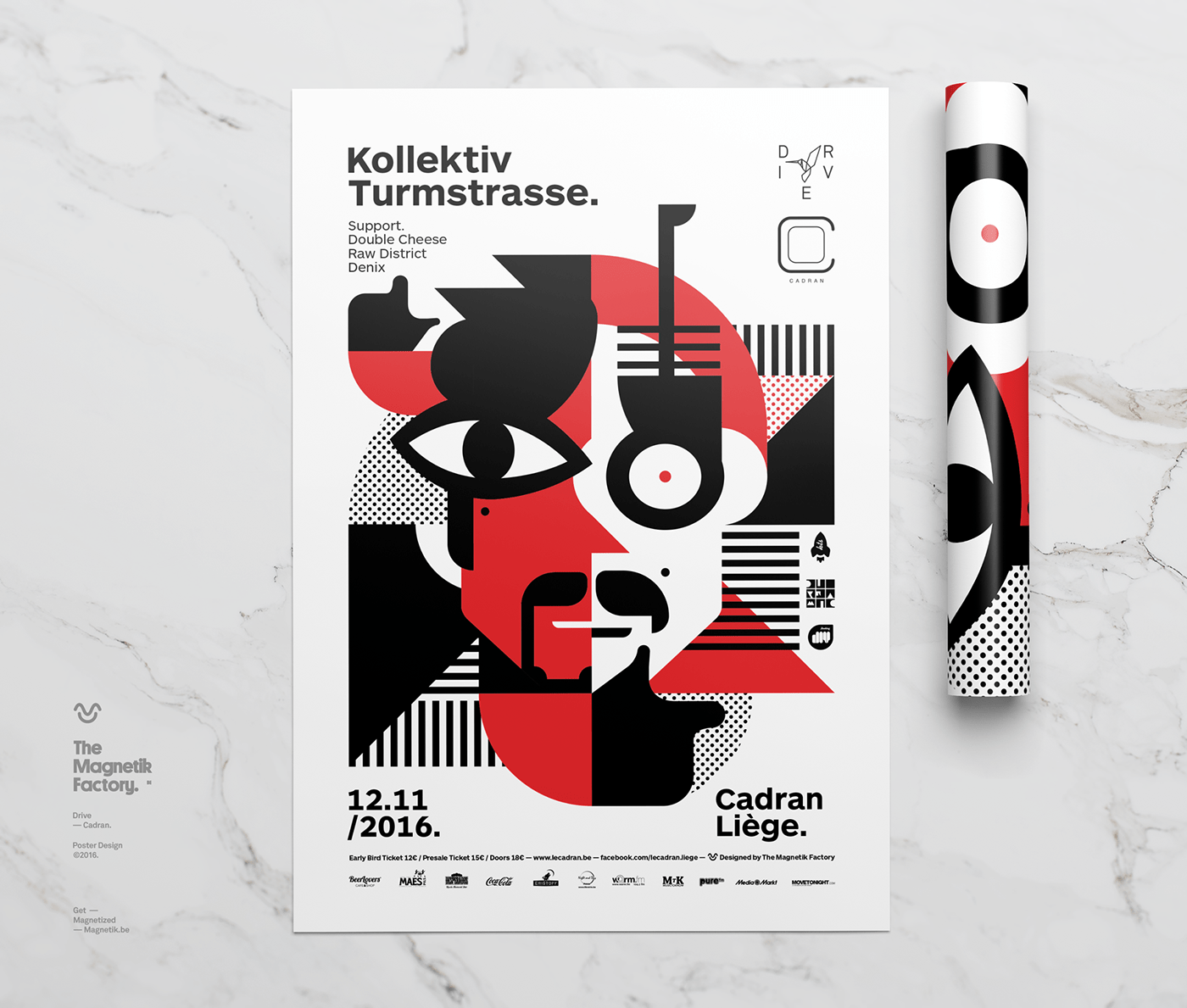 Design Liege Drive Posters Serie On Behance