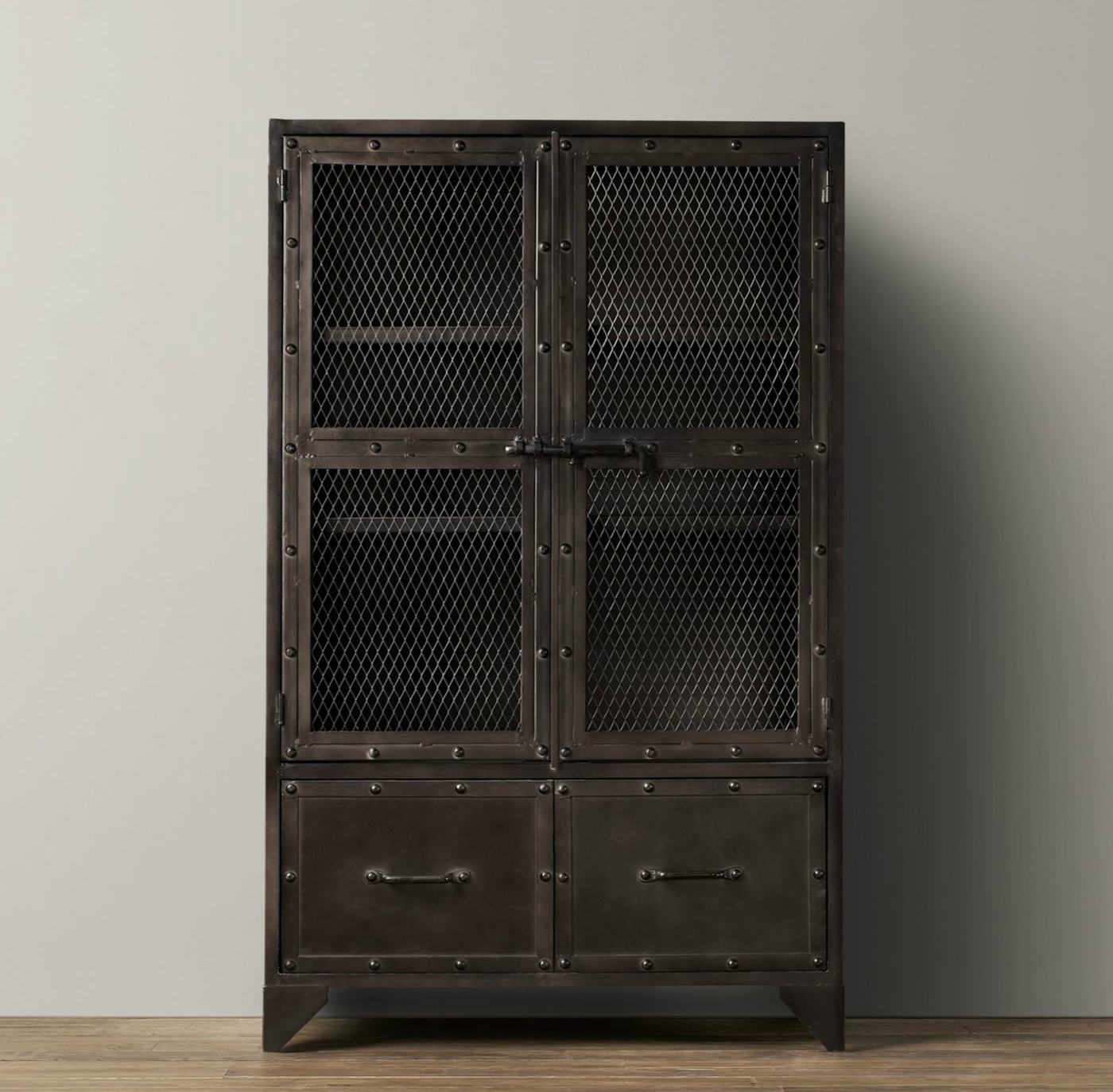 Ikea Kitchen Cabinet Child Locks Vintage Industrial Steel Cabinet By Rh Baby And Child On Behance