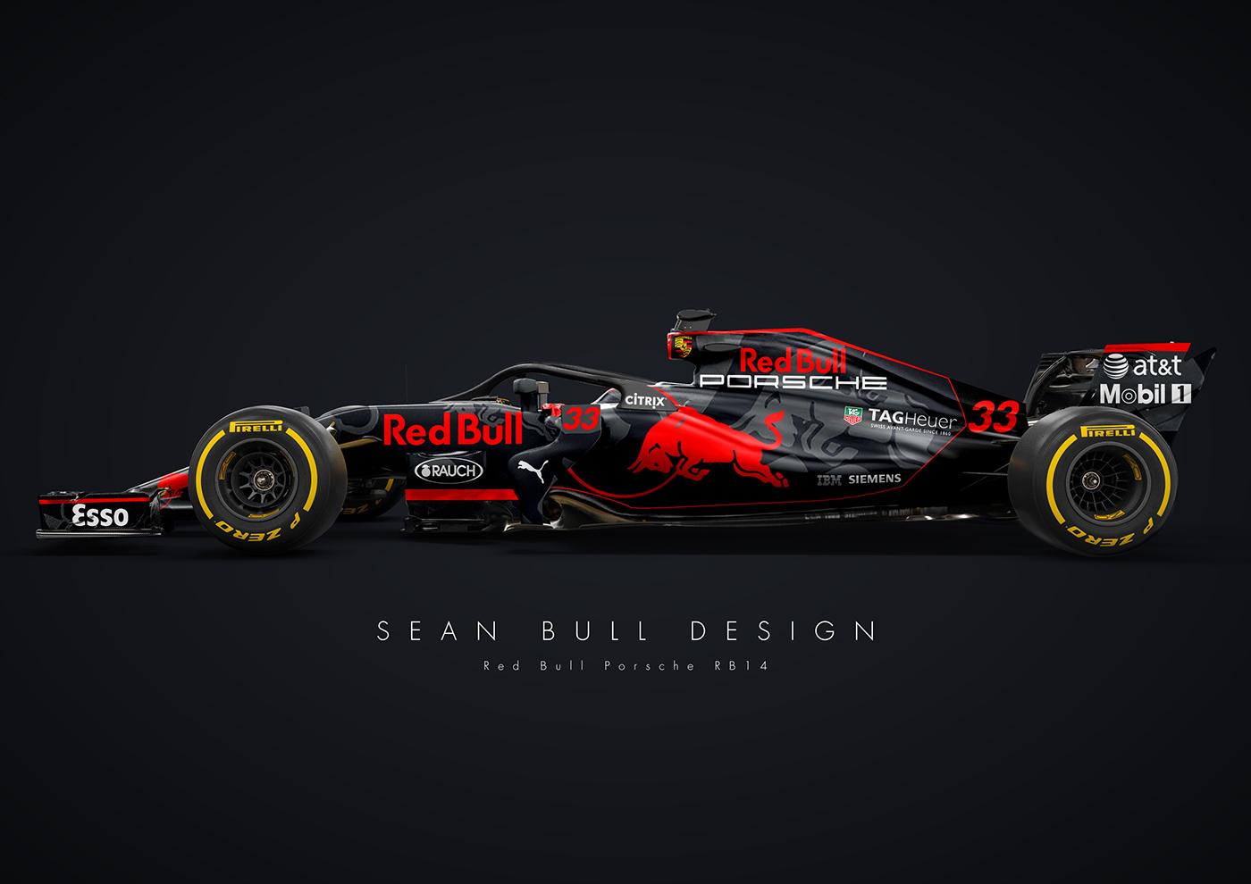 Mercedes New Cars Hd Wallpapers Red Bull Porsche 2018 F1 Concept On Behance