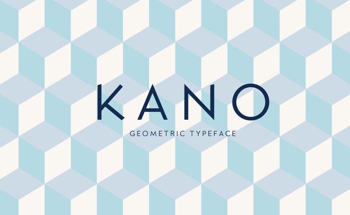 Kano Typeface Font Download