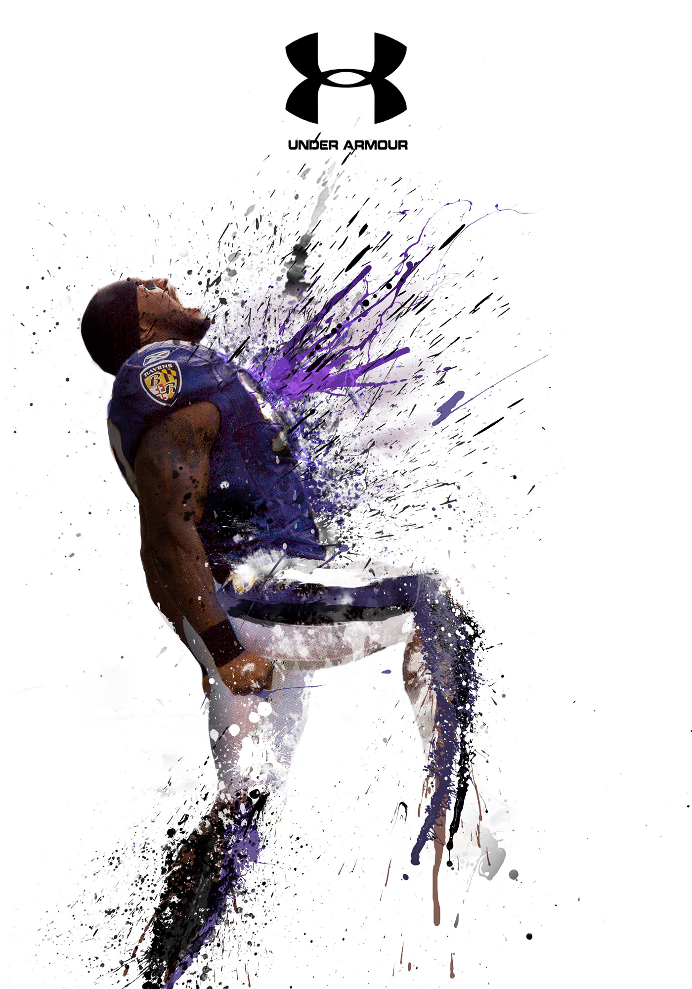 Filter Photoshop Ray Lewis Explosion Mini-poster On Behance