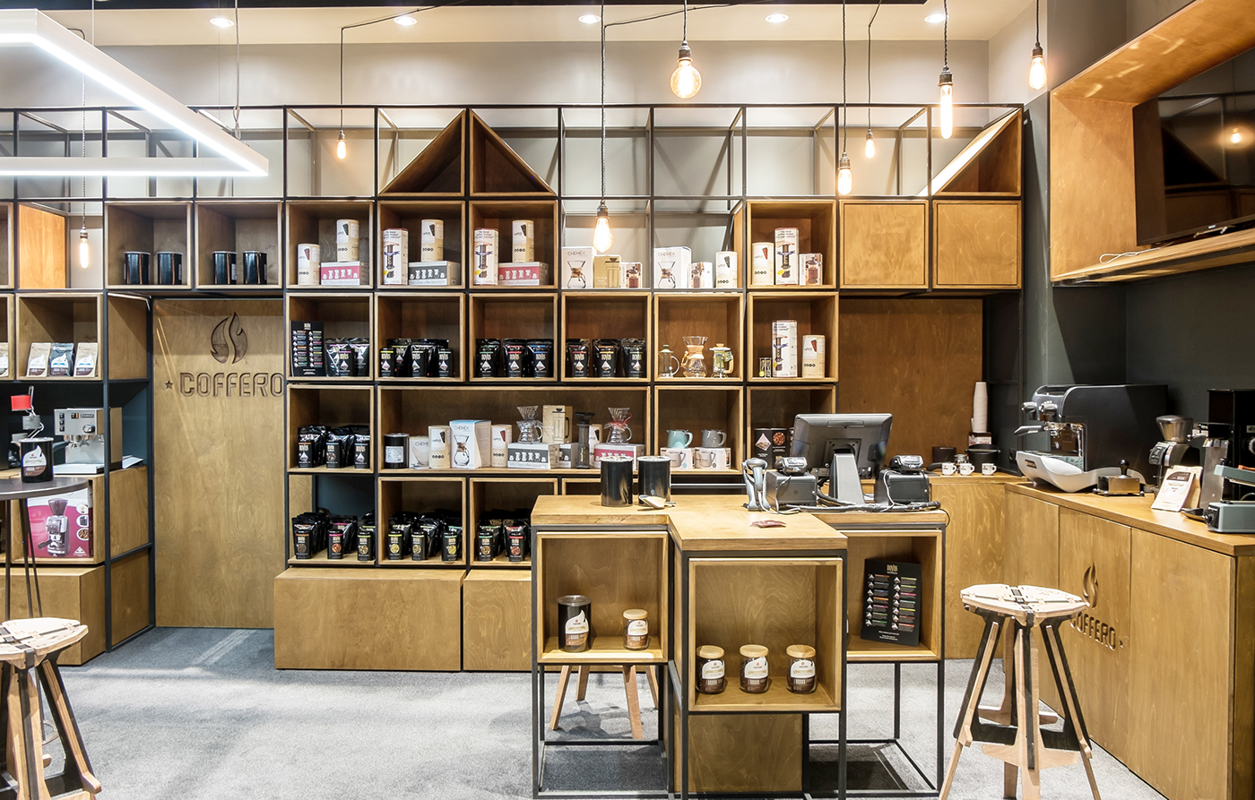 Coffee And Tea Shop 2015 On Behance