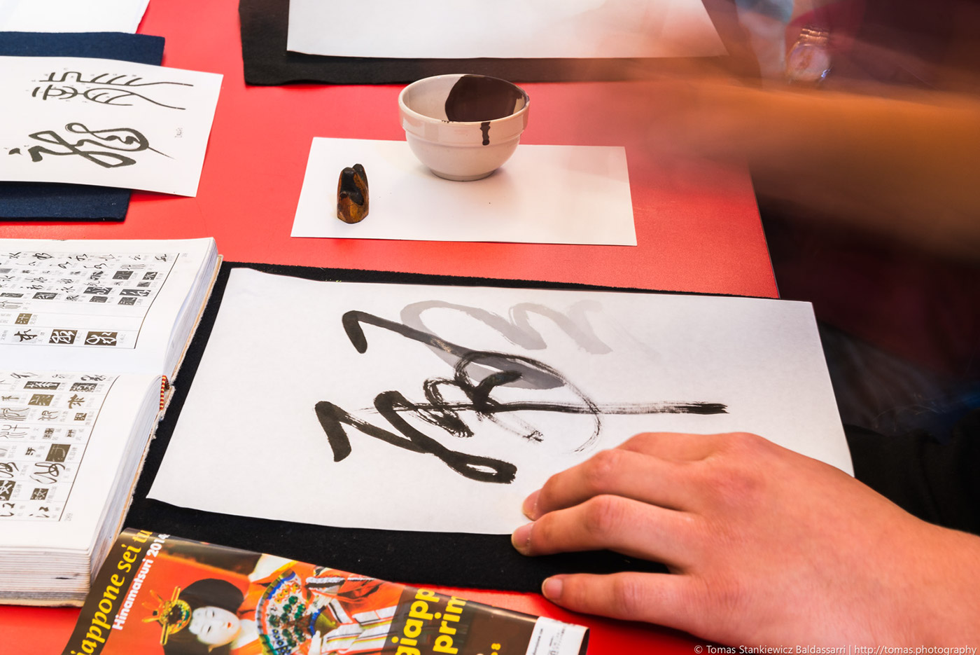 Calligrafia Giapponese Firenze Event Photography On Behance