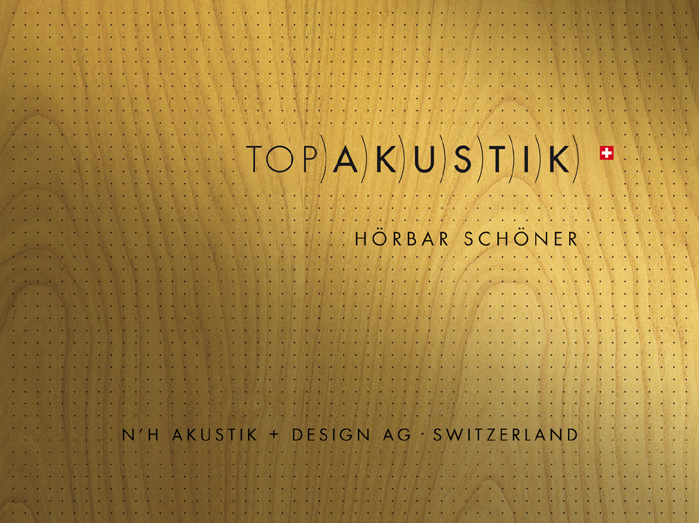 Akustik Design Top Akustik Switzerland On Behance