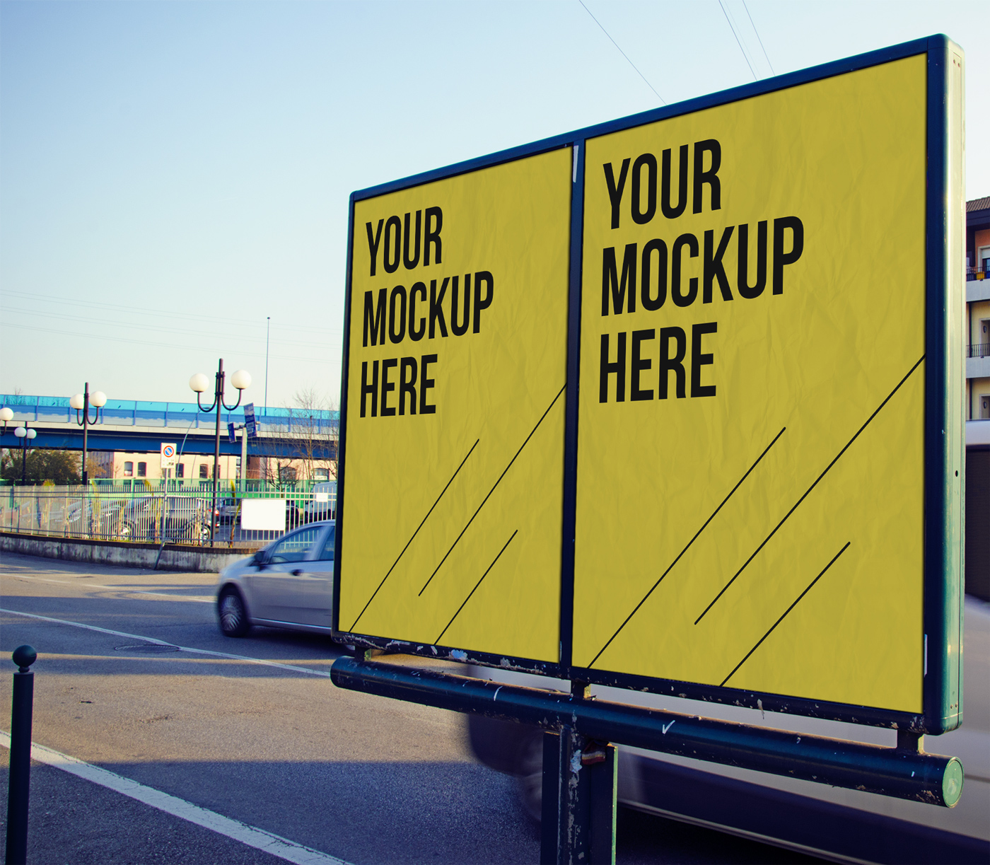 Store Banne Vehicule Free Advertising Mockup On Behance