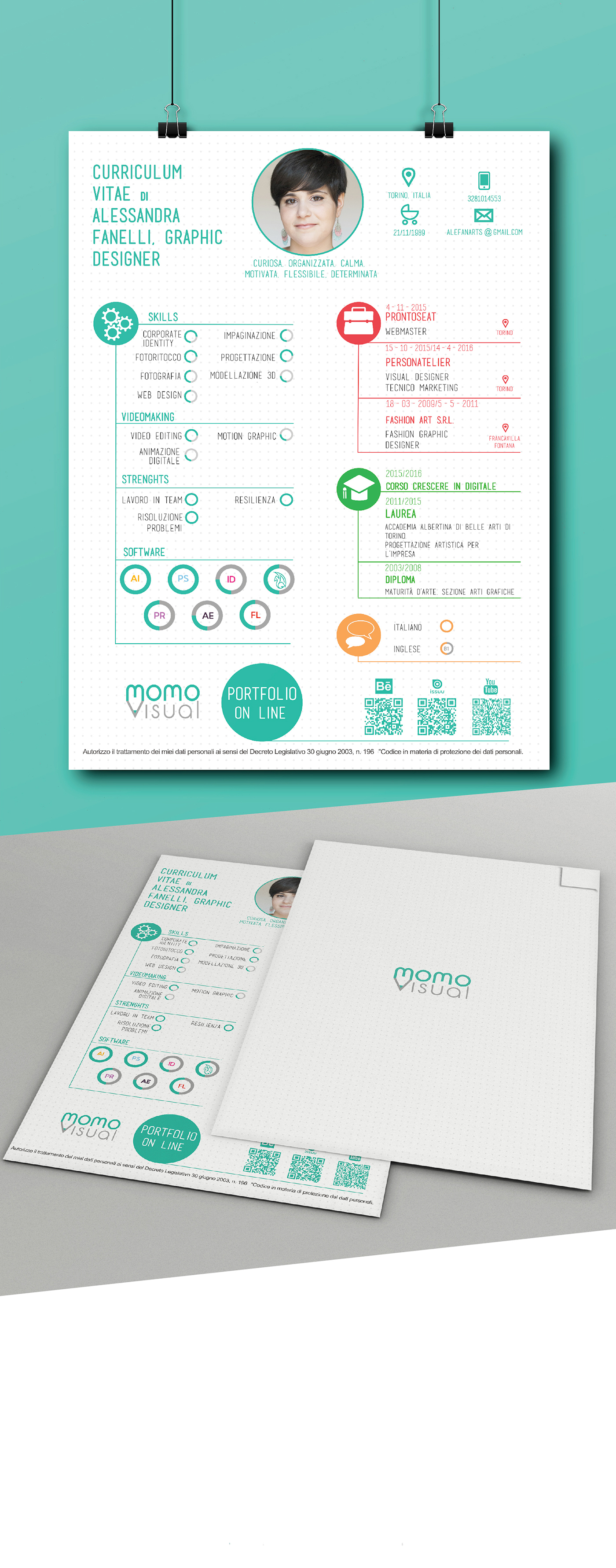 cv infografic