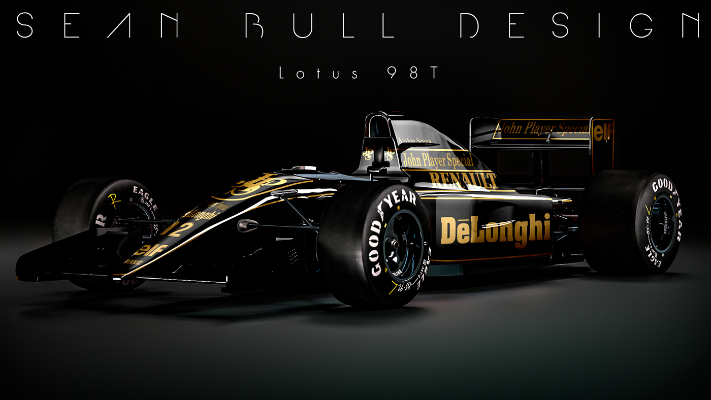 2018 Indy Car Wallpaper Reverse Retro F1 Liveries On Behance