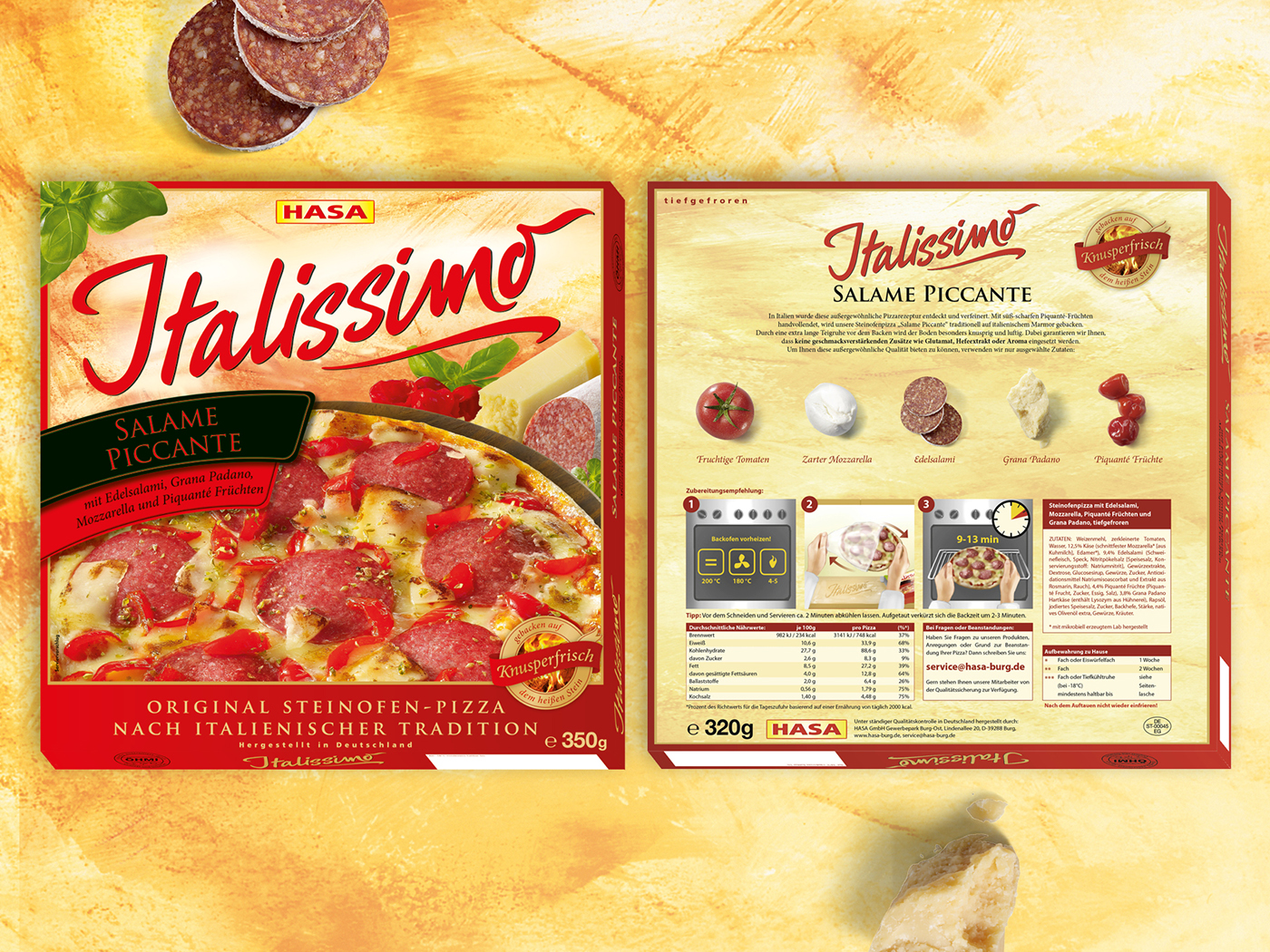 Pizza Family Braunschweig Pizza Packaging Italissimo Redline On Behance