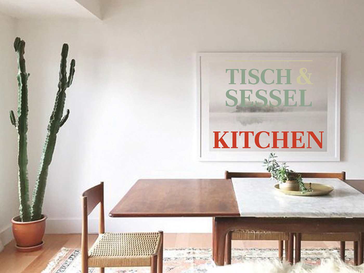 Tisch Mit Sessel Tisch Sessel Furniture Branding On Behance