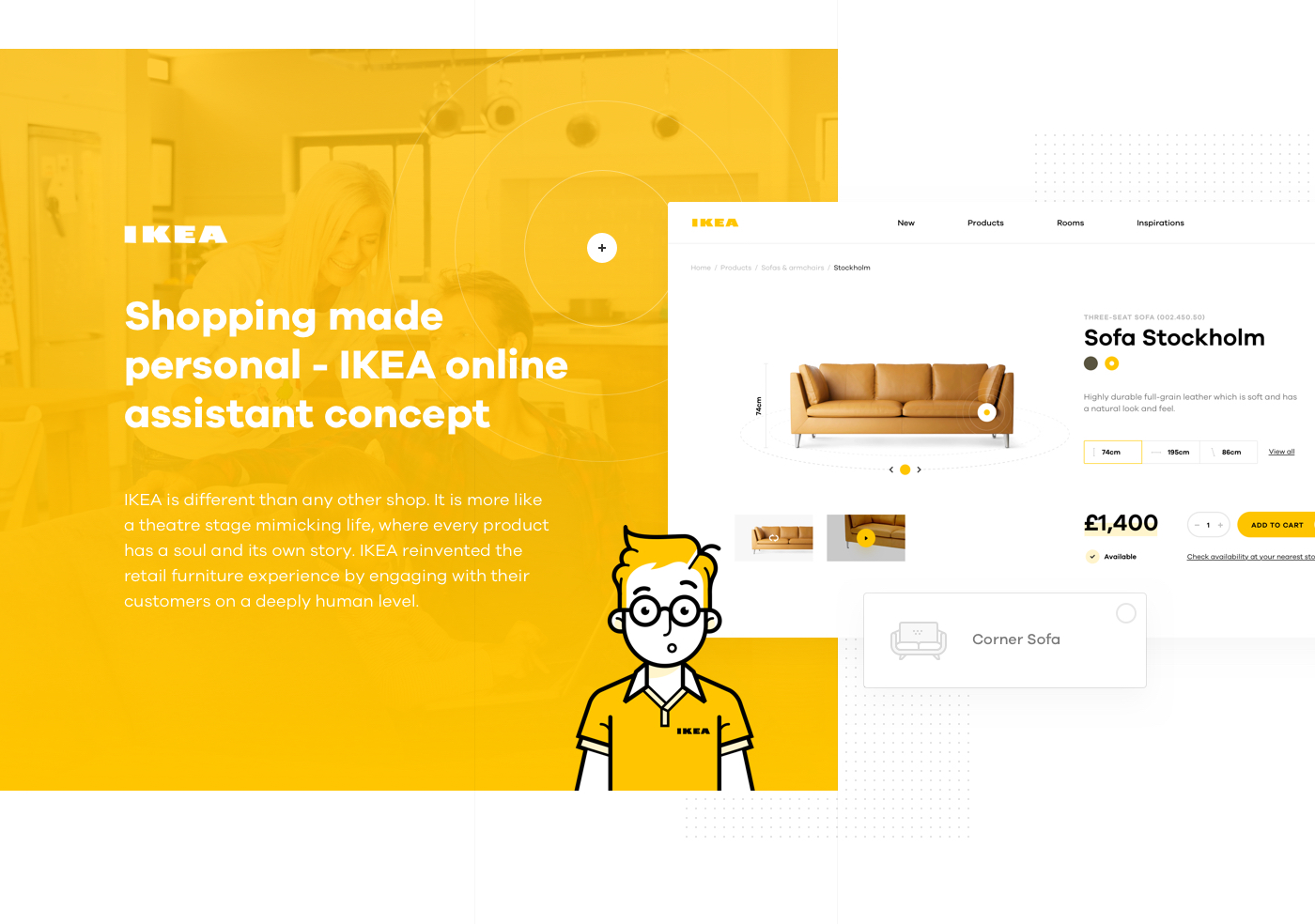 Ikea Business Card Shopping Made Personal - Ikea Online Experience Concept On
