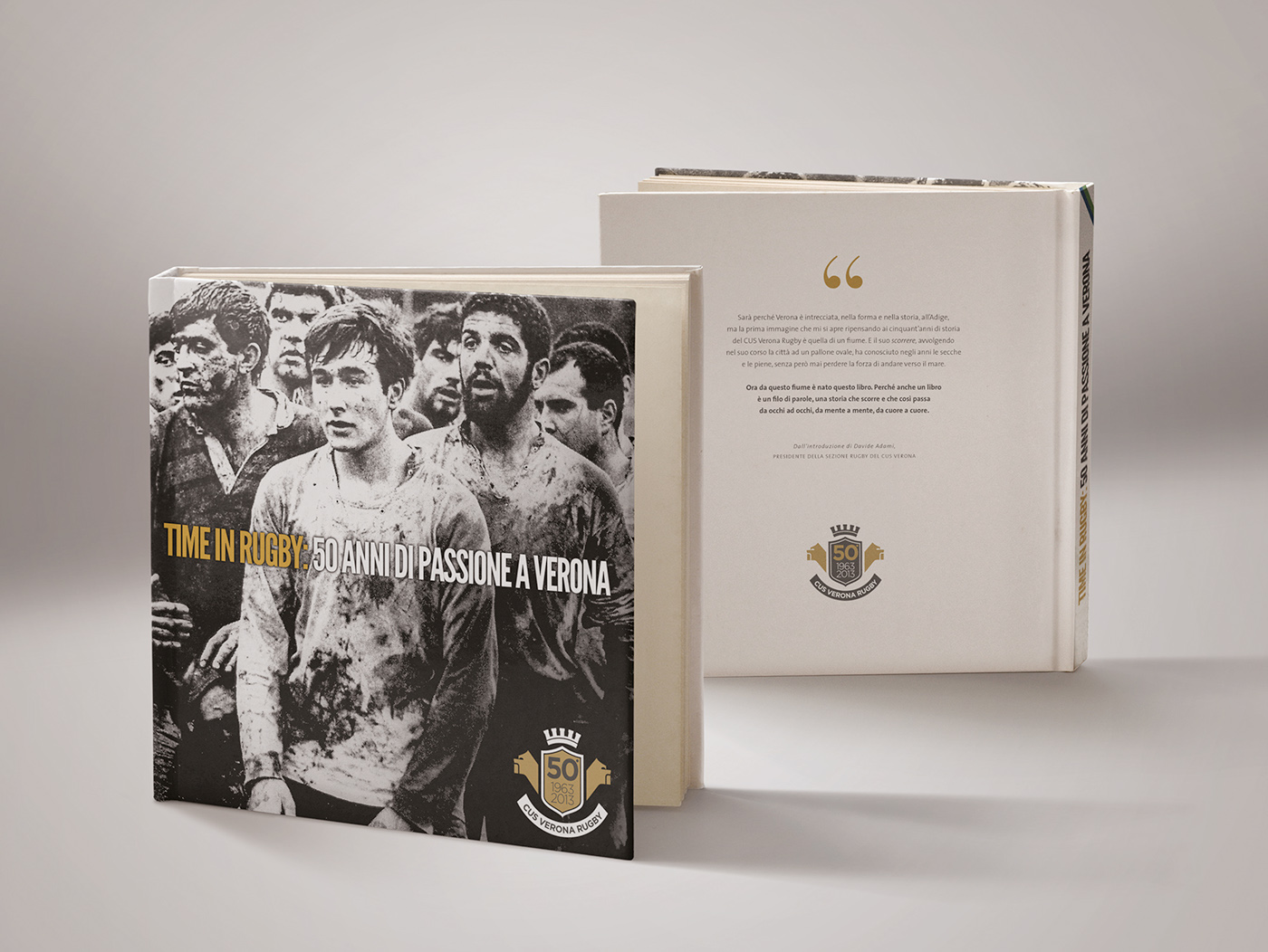 Libro Rugby Cus Verona Rugby Book On Behance
