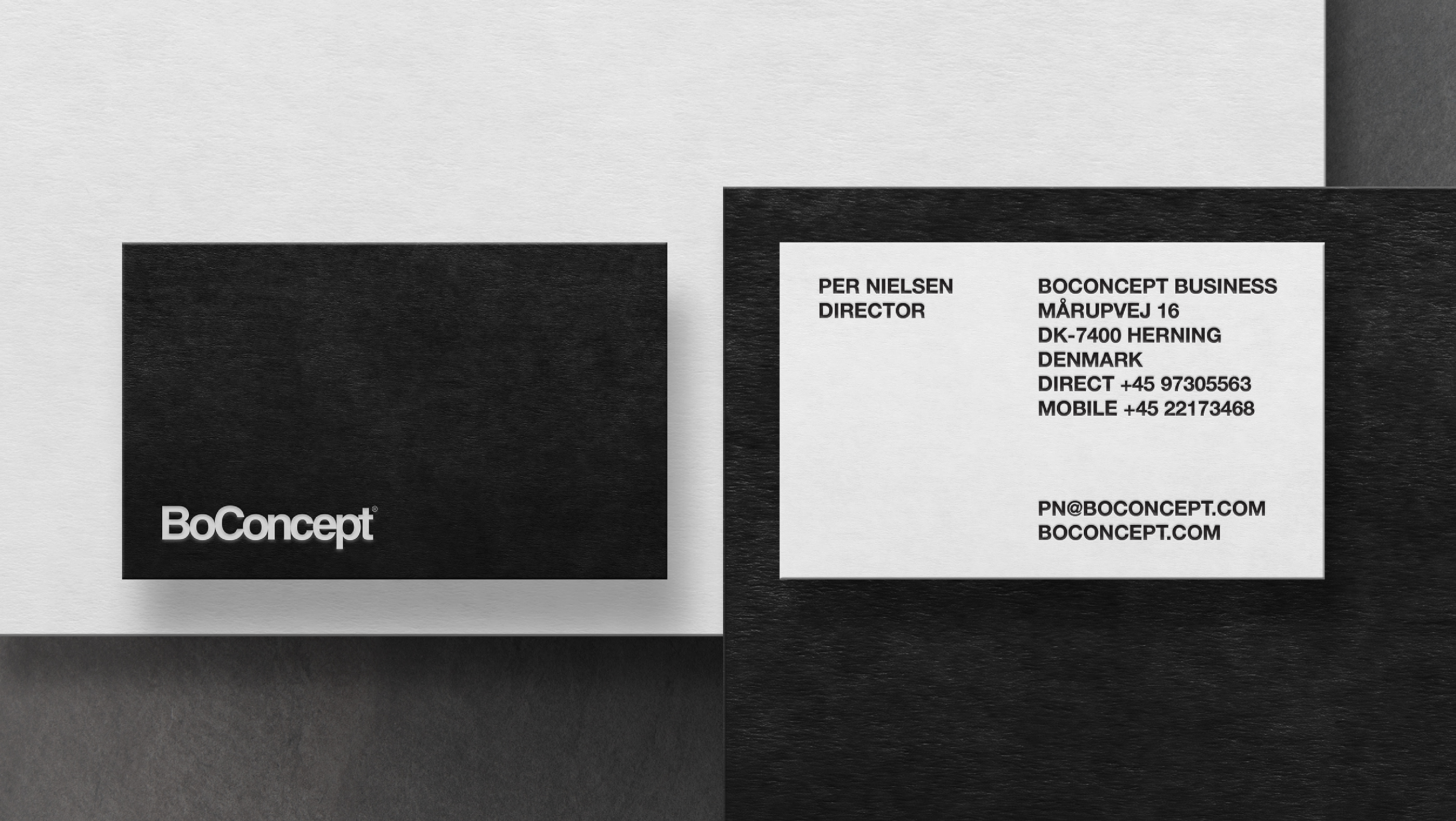 Logo Boconcept Boconcept Brand Identity Catalogue On Behance