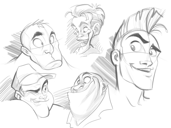 How to Draw a Cartoon Face Correctly on Behance