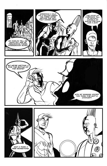Comics and Storyboards on Pratt Portfolios