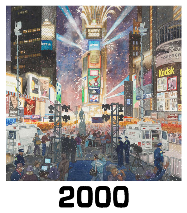 Art Illustration One Times Square: A Century Of Change On Risd Portfolios