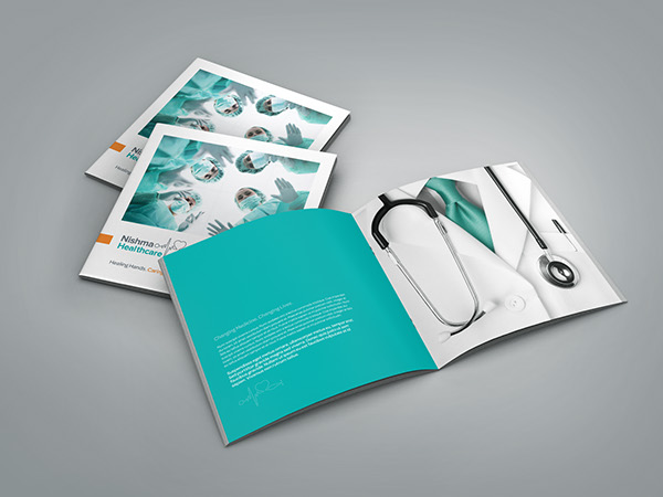 Medical \/ Healthcare Profile Brochure on Behance - healthcare brochure