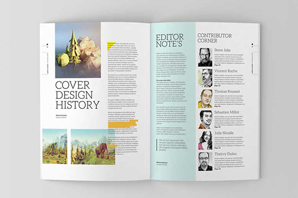 Free Indesign Magazine Templates Projects - Costumepartyrun