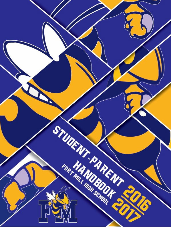 Fort Mill High School Handbook Cover Design on Behance