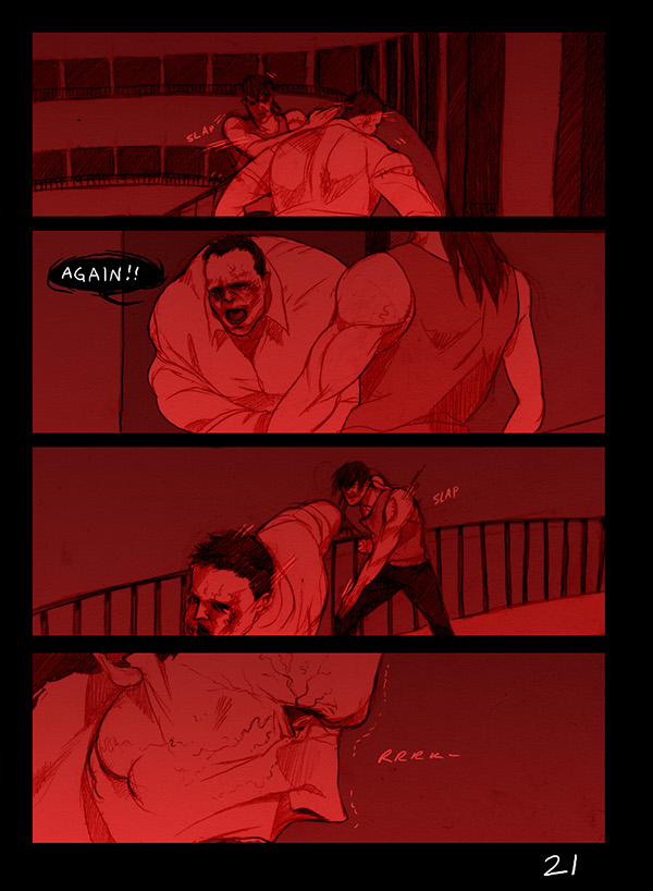 Escape From Furnace Comic Translation Part 2 2 On Behance
