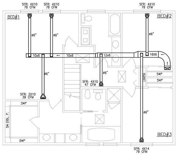 hvac duct drawing pdf