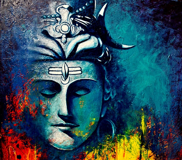 Mahashivratri Wallpaper 3d Lord Shiva Acrylic On Canvas On Behance