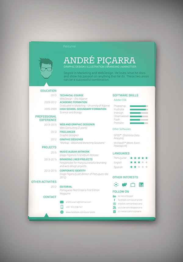 CV / Resumé on Behance - my personal resume