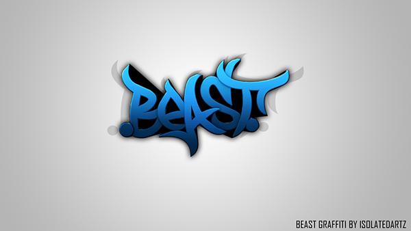 3d Colourful Wallpaper Beast Graphics Graffiti Branding By Isolatedartz On Behance