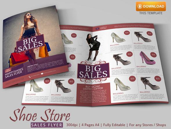 Sales Flyer Template Modern Design on Behance