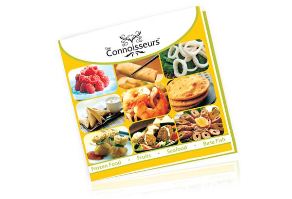 The Connoisseurs - FB Product brochure on Behance - food brochure