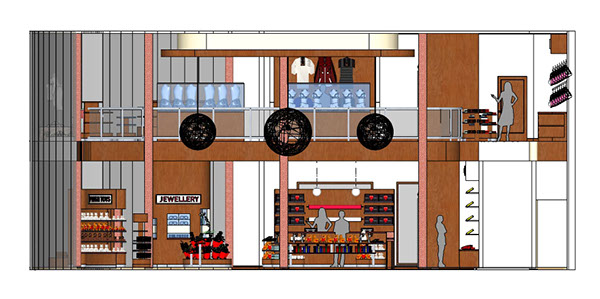 Kitchen Interior Design Autocad Drawings Retail Design: Love Store On Behance