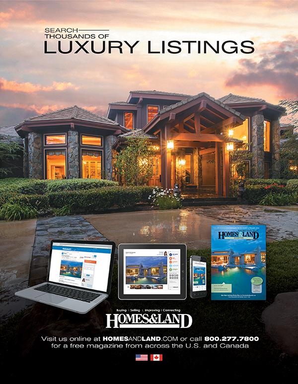 Homes  Land Magazine Ads on Behance