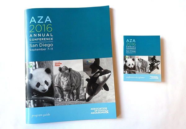 AZA Annual Conference Materials on AIGA Member Gallery