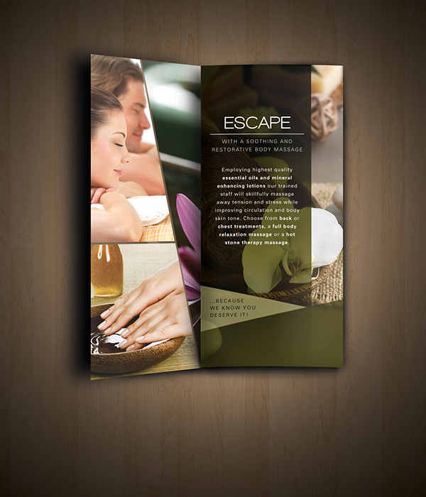Nav Spa Brochure on Behance